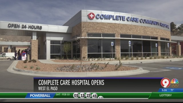 New Kind Of Hospital Opens In El Paso