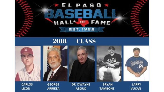 El Paso Baseball Hall of Fame announces Class of 2018