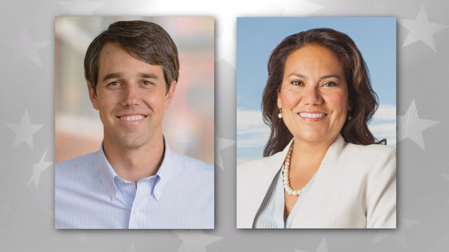 Beto O'Rourke missing own UTEP rally, replaced by wife Amy and Veronica Escobar