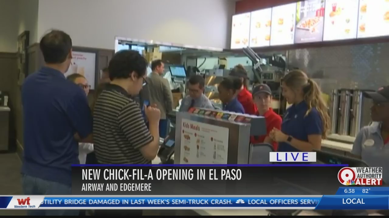 New Chick Fil A In East El Paso Now Open