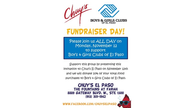 Eat Some Tex Mex And Support The Boys And Girls Clubs Of El Paso