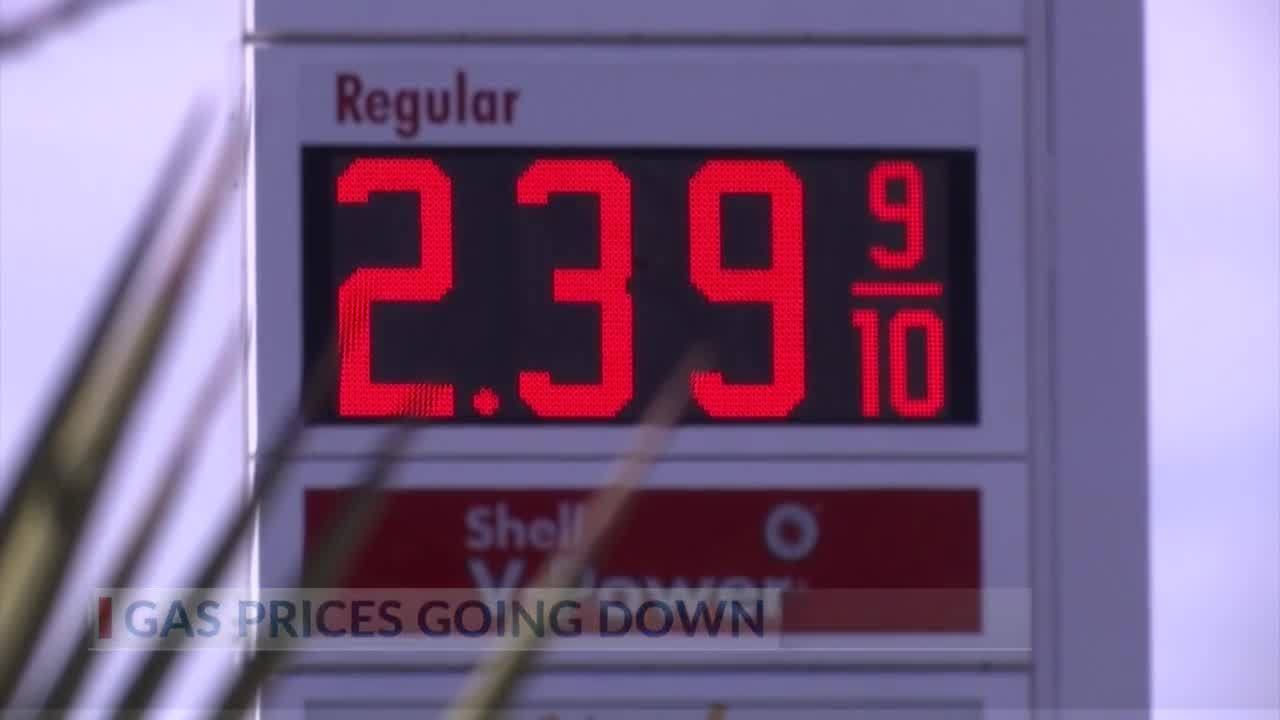 Texas Gas Prices Start 2019 Down More Than 30 Cents Year To Year