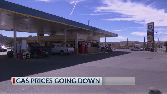 Why Are Gas Prices Dropping In El Paso And Las Cruces