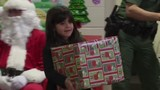 El Paso Border Patrol agents deliver gifts to children in Chihuahuita