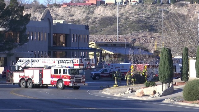 Murchison Street Blocked Off Due To Gas Leak In Central El Paso