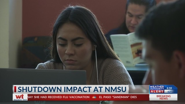 Nmsu Financial Aid >> Students At Nmsu See Impact Of Government Shutdown