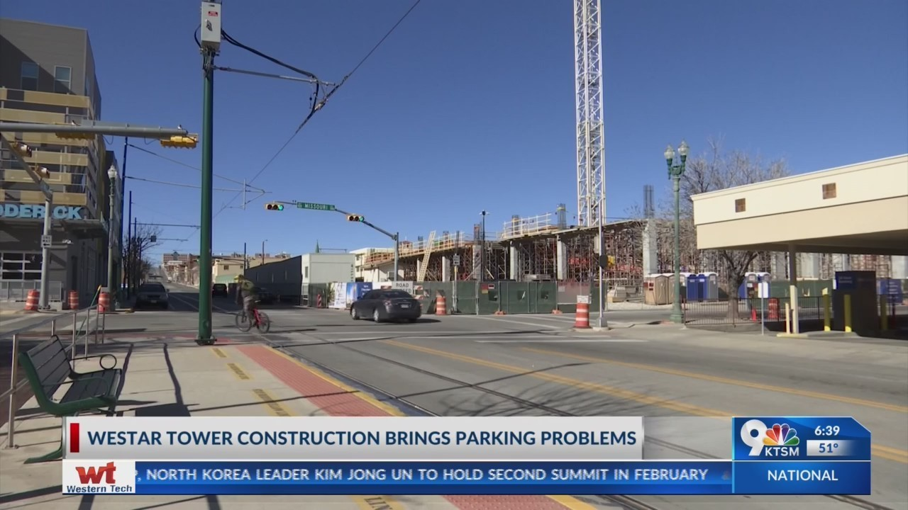 Construction of WestStar Tower creates downtown parking hassle