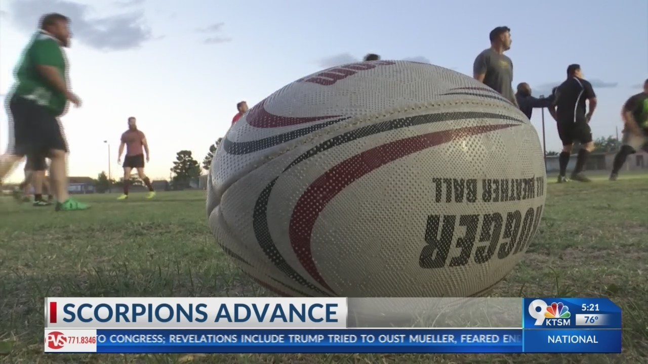 El Paso Scorpions rugby team need fans help to get national championships