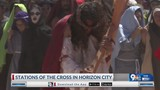 Borderland Catholics spend Good Friday with reenactment of the Passion of Christ