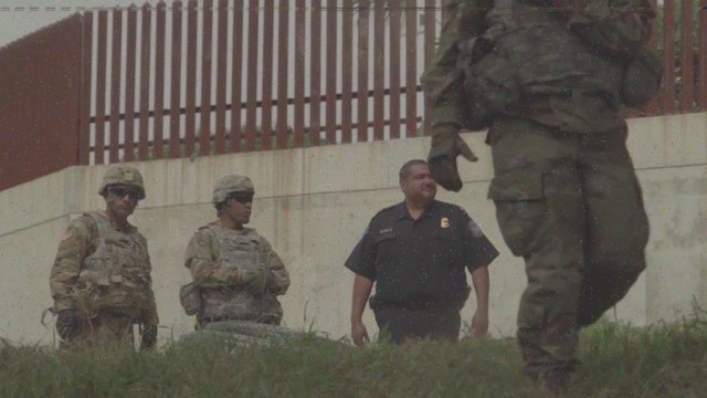 Mexican troops question, point guns at U.S. soldiers at border near Clint