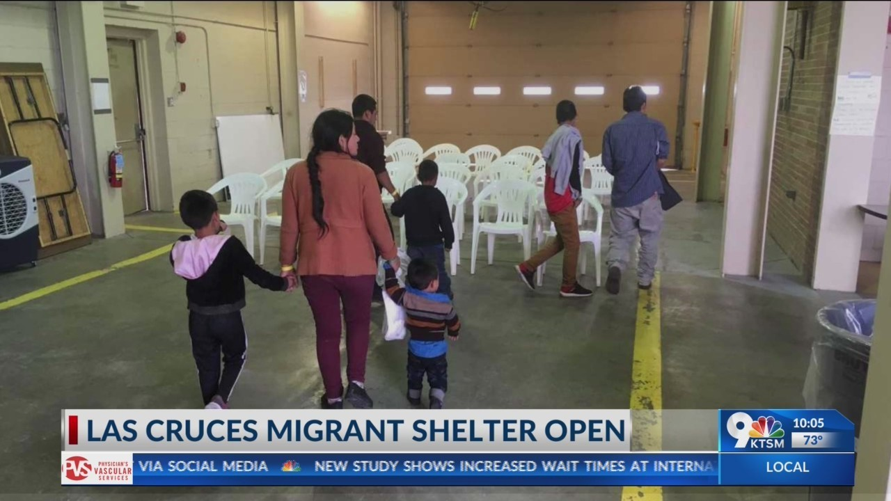 Las Cruces migrant shelter opens
